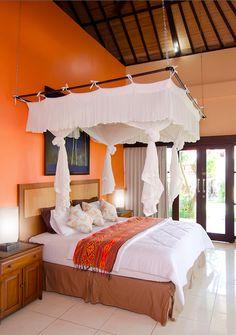Villa Flamboyan, Bali, Indonesia.  Beyond Villas Bali has a selection of beautiful villas, all over Bali, to suit every style & Budget. www.beyondvillas.com