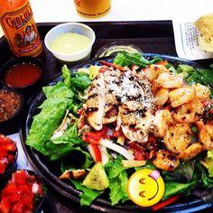#bajafresh #delicious #salad www.facebook.com/bajafresh Salads, Fresh, Facebook, Meat, Chicken, Food, Essen, Meals, Yemek