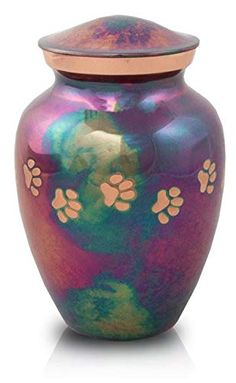 Bronze Keepsake Memorial Cremation Urn for Cats and Dogs - Paw Print Raku Funeral Urn for Ashes Extra Small – Custom Engraving Included Pet Cremation Urns, Cremation Ashes, Animals And Pets, Cute Animals, Funeral Urns, Dog Paws, Custom Engraving, Cute Puppies, Pet Supplies