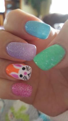 Want some ideas for wedding nail polish designs? This article is a collection of our favorite nail polish designs for your special day. Easter Nail Designs, Easter Nail Art, Cute Nail Art Designs, Toe Nail Designs, Nail Polish Designs, Acrylic Nail Designs, Nails Design, Holiday Nail Art, Halloween Nail Art