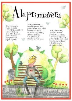 """poema """"A la primavera"""""""
