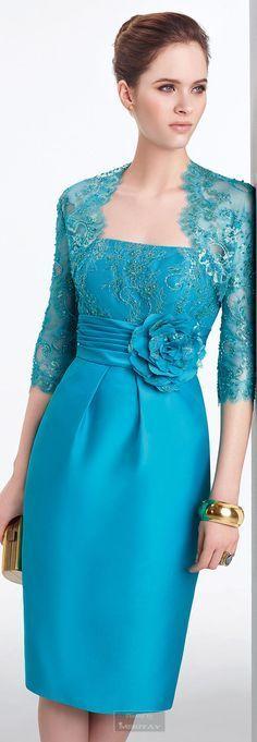 New Dress Brokat Aire Barcelona Ideas Lace Evening Dresses, Lovely Dresses, Beautiful Gowns, Elegant Dresses, Beautiful Outfits, Evening Gowns, Blue Dresses, Lace Dress, Dress Up