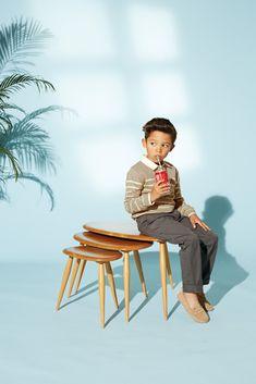 Marie-Chantal - SS15 - striped sweater boy