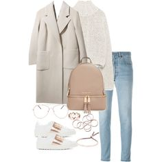 A fashion look from February 2017 featuring Zara sweaters, Boutique coats and RE/DONE jeans. Browse and shop related looks.