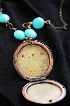 Begin necklace