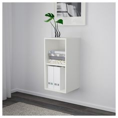 IKEA - EKET Cabinet with 2 compartments white