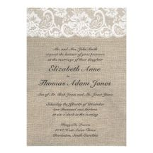 Custom Vintage Lace Burlap Bridal Shower Invitation created by ModernMatrimony. This invitation design is available on many paper types and is completely custom printed. Burlap Wedding Invitations, Vintage Wedding Invitations, Wedding Invitation Design, Custom Invitations, Bridal Shower Invitations, Cheap Invitations, Invitation Templates, Invitation Examples, Personalized Invitations