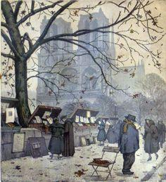 Zamponi, Paris~Notre Dame Street Fair Book Sellers.