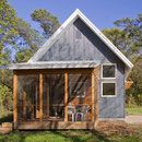 This small house project features passive solar, utilitarian low maintenance but beautiful design. The small, super insulated sustainable home features many eco-friendly, green strategies in a small package.