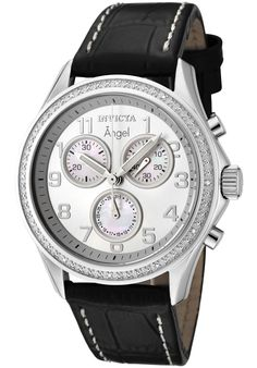 Price:$149.00 #watches Invicta 0577, Collectively matching anyone's style, this classy Invicta, with its cool, bold design, will elegantly go with any outfit.