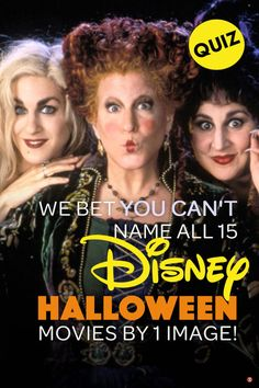 How well do you remember these classic Disney Halloween themed movies including Halloweentown, Twitches, and Hocus Pocus? #disney #disneyquiz #disneyhalloween #Halloween2020