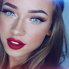 15 atemberaubende rote Lippen in dieser Saison zu rocken Rock 15 stunning red lips this season up 35 pink eye make-up ways, red LiStunning wedding F Gorgeous Makeup, Love Makeup, Makeup Inspo, Makeup Inspiration, Makeup Tips, Makeup Looks, Makeup Tutorials, Makeup Trends, Makeup Ideas