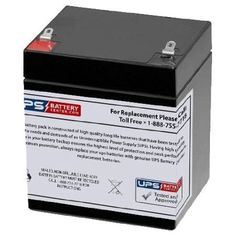 12V 4Ah SLA Battery for Casil Ca1240 Alarm Control System -- Awesome products selected by Anna Churchill