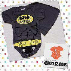 zpr Body Batman com capa super herói.