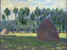 Haystack at Giverny 1885 Claude Monet