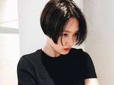 Short Bob Synthetic Lace Front Wigs for Women L Part Black Color Light Yaki Straight Heat Resistant Synthetic Hair Replacement Wigs Girls Short Haircuts, Short Hairstyles For Women, Straight Hairstyles, Synthetic Lace Front Wigs, Synthetic Hair, Girl Short Hair, Short Hair Cuts, Pixie Cuts, Shot Hair Styles
