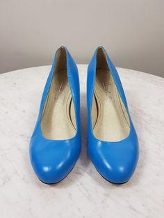 9c67519b962 SHOES OF PREY sz 35 womens blue pump   shoes   F110   fashion