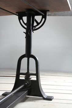 Industrial Draftsman Crank Mechanism Work Table - Crank Furniture Co. / Boutique, Creative, Fine Quality Industrial Furniture