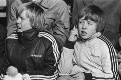 Prince Willem-Alexander (left) at age 14 and his brother Constantijn in 1982 Blue Bloods, Royal House, Netherlands, Adidas Jacket, Prince, Celebrities, Jackets, Royals, Holland