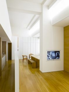 Interior of the Claudio Silvestrin apartment by Claudio Silvestrin.