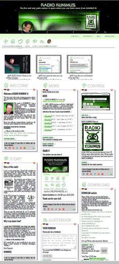 RADIO KUNIMUS celebrates the first year online. http://radio.KUNIMUS.eu