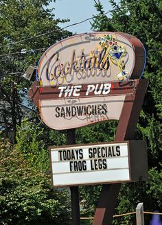 The Pub.... Richland, Michigan --- Never expected to come across this on Pinterest!!!