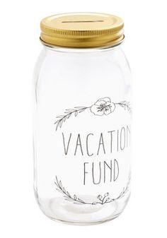 We could soo make piggy bank/fund jars