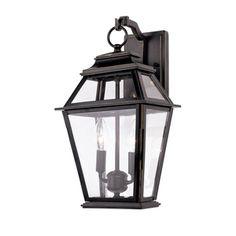 Bel Air Lighting 17 inch 2 Bulb Porch Lantern 69.00