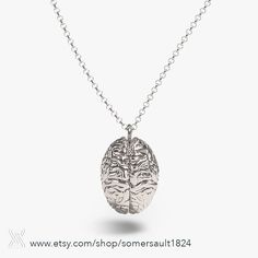 Need an extra brain? Here you go! This one in the finest sterling silver will fit you beautifully. Purchase link in our bio. #somersault1824