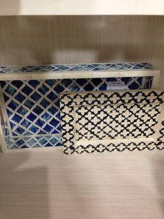 Bone inlaid trays