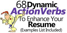 Use these 68 action verbs or action words to crank up your resume. Includes a list of action verbs categorized by scenario so you can start using them right away!