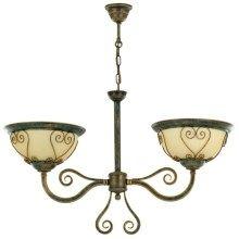 Luster VERDA VE/2/G 2xE27/60W bronz Chandelier, Bronze, Ceiling Lights, Led, Lighting, Home Decor, Cluster Pendant Light, Candelabra, Decoration Home