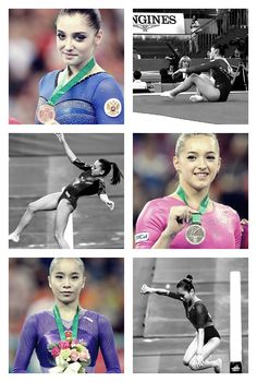 There's no success without failure, Aliya Mustafina, Larisa Iordache and Yao Jinnan