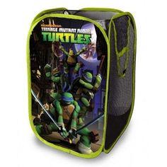 Ninja Turtle Bathroom Decor New Nickelodeon Teenage Mutant Ninja Turtles Pop Up Hamper Bedding & Decor Walmart Ninja Turtle Bathroom, Boys Ninja Turtle Room, Pop Up Frame, Baby Pop, Kairo, Delta Children, Toy Organization, Teenage Mutant Ninja Turtles, Boy Room