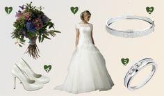 Vestido Hervé Mariage 2014 - http://www.bodas.net/articulos/look-de-novia-primavera-romantica--c2248