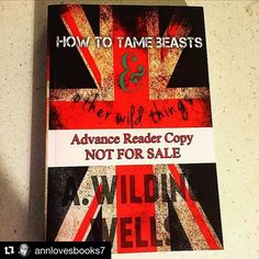 You guys!!! Head on over  and check out this awesome giveaway!from #Repost @annlovesbooks7 with @repostapp  GIVEAWAY  Ok girls I received the permission from the lovely @awildingwells to do a special giveaway of this RARE copy of How to Tame Beasts and Other Wild Things! I received this ARC paperback awhile back and I loved it!! This author will provide you with a HOT romance with a hefty side of comedy! I love this copy but in celebration of her new release coming next month I want to gift…