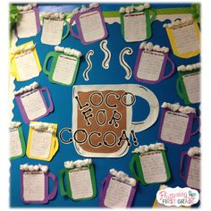 Crazy for Hot Cocoa! Activities for the Polar Express Day!