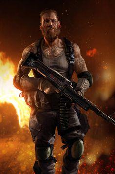 New ideas for sci fi concept art characters warriors rpg Post Apocalypse, Apocalypse World, Character Concept, Character Art, Concept Art, Character Inspiration, Arte Zombie, Rpg Cyberpunk, Shadowrun Rpg