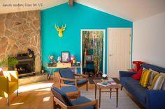 parede azul turquesa quarto - Pesquisa Google