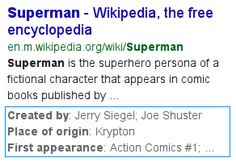 Introducing Structured Snippets, now a part of Google Web Search | Research Blog