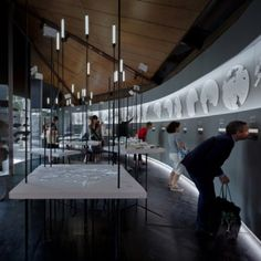 """Canadian Pavilion examines move """"from igloos to internet"""" in Inuit communities Venice Architecture Biennale 2014"""