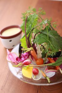 Vegetable set for bagna cauda 農園バーニャカウダセット