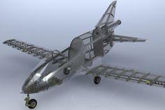 BD-5 Aircraft Model