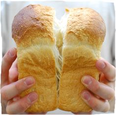 Fluffy Japanese bread. I HAVE to to try to make this!!!