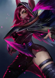 Xayah (^~^)/ - League of legends