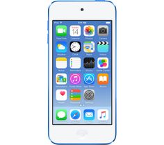 APPLE iPod touch - 32 GB, 6th Generation, Blue, Blue Price: £ 229.00 The 6th generation 32 GB Apple iPod touch in blue is the ideal portable music and entertainment device. Load it up with your favourite songs and apps for more fun on the go. Perfectly portable music Carry your music collection in your pocket - the iTunes Store lets you download plenty of music to your iPod touch to enjoy...