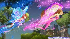 Bloom and Flora ❤❤ Winx Club, Flora Winx, Queen, Season 1, Bloom, Fan Art, Wallpaper, Roxy, World
