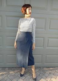 Image result for wrap 70's skirt images angled hem Midi Wrap Skirt, Wrap Skirts, Skirt Images, Nautical Looks, Work Wardrobe, Rock, Striped Knit, Tweed, High Waisted Skirt
