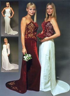 Coloured Gowns
