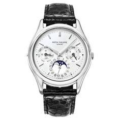 Pre-Owned Patek Philippe Perpetual Calendar Automatic Platinum (3940P)